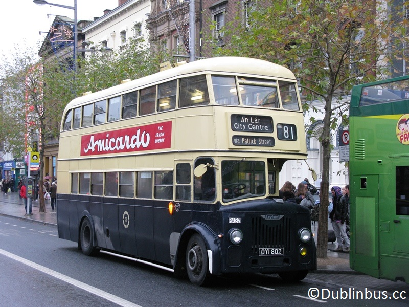 Routemaster Bus Dublin 1960